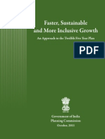 India  12 FYP Approach paper