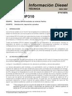 Bombas Dp210-310 Perkins