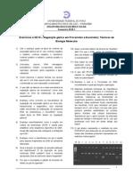 Lista de exercícios III - regulacao genica e técnicas de Biologia Molecular (2010.1) enviado