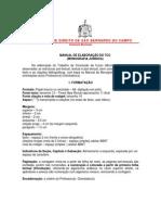Manual Do Tcc 2009