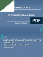 Membuat Tabel Dan Modifikasi Tabel pada PHP