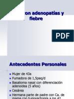 Adenopatías