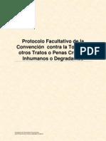 Protocolo Facultativo de la Convención contra la Tortura y otros Tratos o Penas Crueles, Inhumanos o Degradantes
