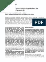 Automated Micobiology Method 4 Vit b12