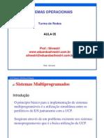 SO Sistemas Multiprogramados