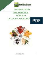Modulo 1 Cocina Macrobiotica
