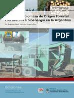 INTA Uso de Biomasa Forestal Para Bioenergia