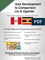 peru  uganda comparison