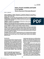 Socio Economic Status Chronic Morbidity and Health Services Utilization by Families