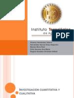 Investigación Calitativa y Cuantitativa