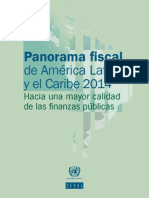 Panorama Fiscal 2014