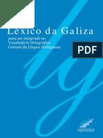 Léxico da Galiza para ser integrado no Vocabulário Ortográfico Comum da Língua Portuguesa (2ª ed.)