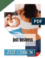 Solo Un Negocio - Julie Cannon