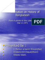A Presentation on History of Bangladesh