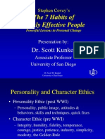 Summary 7 Habits Of Highly Effective People Psychology Cognitive