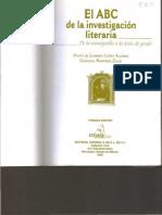 ABC de la investigación literaria Intro