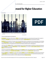 moocs and public demand for higher education