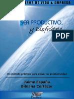 Libro Sea Productivo y Disfrutelo