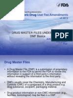 DMF Filing