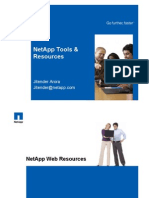 NetApp Tools and Resources