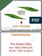 Anant Raj Villas | Sector 63A Gurgaon