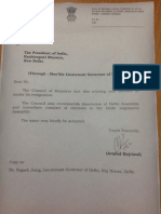Arvind Kejriwal's resignation letter