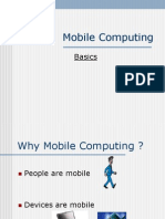 Mobile Computing - Basics