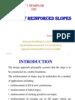 Design of RE Slope