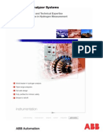ABB Hydrogen Analyzer Systems