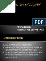 Audio Spot Light