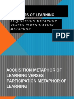 metaphors of learning