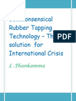 Commonsensical technology for rubber