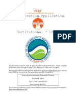 Download Institutional Other Facility Application PDF