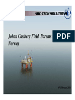 Arctic Oil and Development study - Field selection