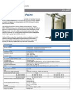 Cambium Networks PMP 450 AP Spec Sheet 100813