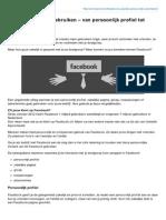 Ernohannink.nl-facebook Zakelijk Gebruiken Van Persoonlijk Profiel Tot Adverteren