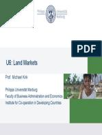 Dr Kirk's Land Market