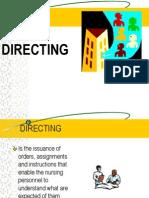 8. Directing