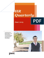 Hr Quarterly PWC