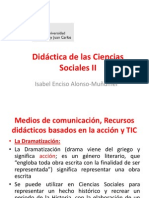 Didáctica de las Ciencias Sociales II (Recursos didácticos)