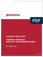 Data Products DIGISOL RANGER Series Downloads Upgrade Procedure for DG-BG4011N