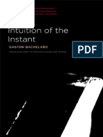 Bachelard Gaston Intuition of the Instant