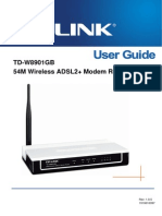 TD-W8901GB User Guide