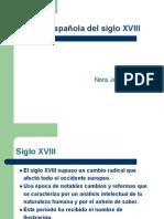 SIGLOXVIII literatura española (1)