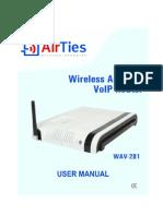 Airties Wav-281 Um En