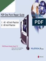 LG PDP40!42!60 Inch Repair Guide