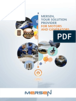 Electrical Solutions for Motors and Generators Mersen