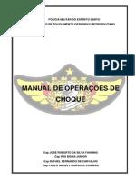 Manual de operações do CHOQUE - PMES