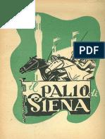 Enea Marroni - Il Palio di Siena