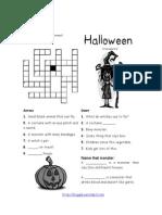 Halloween Crossword 2